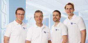 Das Ärzte-Team der HNO Praxis und Praxisklinik